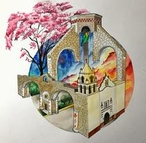 Mi Proyecto del curso: Técnicas modernas de Acuarela. A Fine Art project by Héctor Armando Domínguez Rodríguez - 10-05-2017