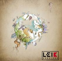 LEIK Gravedad. A Illustration project by Diego A. Bartolomé López - 17-09-2016