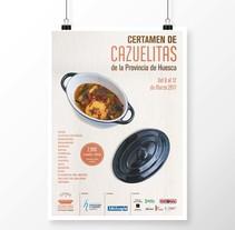 Certamen de Cazuelitas de la Provincia de Huesca 2017. A Photograph, Graphic Design, and Video project by Sara Palacino Suelves - 01-03-2017