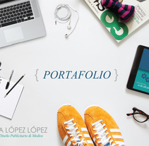 PORTAFOLIO. A Illustration, Br, ing, Identit, Graphic Design, and Marketing project by Victoria López - 03-03-2017