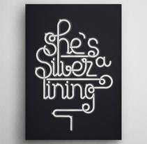 Silver lining. Un proyecto de Dirección de arte, Diseño gráfico y Tipografía de Joan Adrover  - 04-03-2017