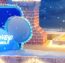 Disney Channel Christmas Ident. Un proyecto de Publicidad, 3D y Animación de Alex Mateo         - 08.03.2017