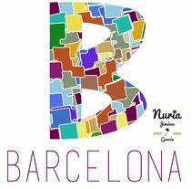 Marca Barcelona. Um projeto de Design gráfico de Nuria Jiménez García         - 10.06.2016