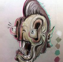 Guacala Sketch. Un proyecto de Ilustración de Sebastian Sanchez  - 19-03-2017