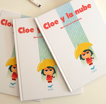 Cloe y la Nube. A Illustration, and Comic project by Núria  Aparicio Marcos - 21-03-2017
