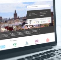 Ayuntamiento de Valencia - Propuesta nueva web (UI Design). Um projeto de UI / UX, Design gráfico e Web design de Paola Fusco         - 29.03.2017