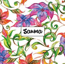 Diseño de estampados florales. A Design&Illustration project by Sandra Magar         - 29.03.2017