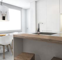 Diseño de vivienda Bº de Salamanca. Un proyecto de Diseño, 3D, Diseño de muebles, Arquitectura interior y Diseño de interiores de Bruno Lavedán - 01-02-2016