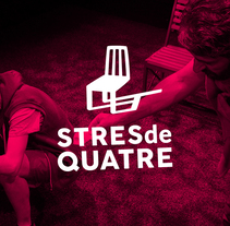 Stres de quatre. A Br, ing, Identit, Graphic Design, and Marketing project by swing estudio         - 01.01.2017