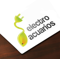 Electro acuarios. A Design, Illustration, Graphic Design, and Naming project by Raquel Hernández Sánchez         - 20.05.2013