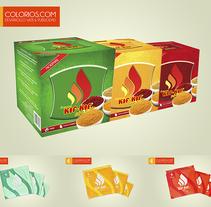 Diseño de Envase Kif-Kif. Um projeto de Packaging de Colorios Publicidad - 14-05-2013