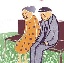 """Ilustraciones Para  """"Mis unidades en español"""" ALCE-Ministerio de Educación. A Illustration project by Elvira Inés Lorenzo Lorenzo         - 24.04.2017"""