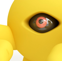 Yellow Devil. A Illustration, 3D, and Character Design project by Alexis Tapia         - 17.09.2016