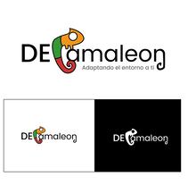Diseño de Logotipo DeCamaleon. Un proyecto de Diseño gráfico y Diseño de iconos de Elia Pérez de Miguel - 20-12-2016