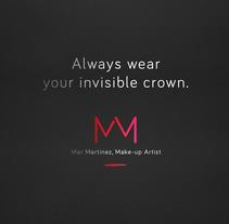 Mar Martinez Make Up Artist. Um projeto de Br, ing e Identidade e Consultoria criativa de Lorenzo Bennassar         - 26.12.2014