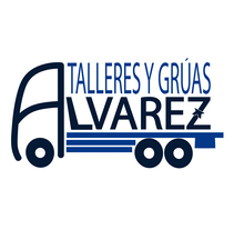 "Logotipo "" Talleres y grúas Álvarez"". A Design, and Graphic Design project by Gema Aured - 05-05-2017"