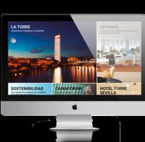 Proyecto presentado a Caixabank para el site de Torre Sevilla. A Web Design project by xavi marí torres - 09-05-2017
