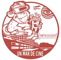 Festival de Cine Alicante. Um projeto de Design gráfico de jose ramón puerto urios - 12-05-2017