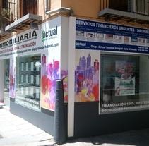 Rotulación de locales comerciales. A Advertising, Installations, and Graphic Design project by Álvaro Martín Liñán         - 18.05.2017