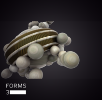 FORMS 3. A Motion Graphics, and 3D project by Mario Patricio Velasco Rodríguez         - 18.05.2017