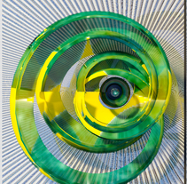 Green eye spiral.. A 3D project by teodolito         - 22.05.2017