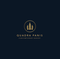 Quadra Panis - Re logo. A Design, Br, ing&Identit project by Emeline Bon         - 23.05.2017
