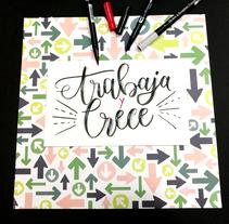 0002. Um projeto de Artesanato, Artes plásticas, Caligrafia e Lettering de Beatriz Cruz Díaz         - 24.05.2017