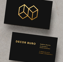 DECOR BURO Branding, event design studio.. A Br, ing&Identit project by Amaia Zelaiaundi         - 15.01.2017
