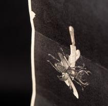 Cartel de concierto | Somos la Herencia – Afilador – Extinción de los Insectos. A Editorial Design, and Graphic Design project by Jorge Gil         - 01.06.2017