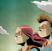Cómic Superhéroes del agua en la Amazonía peruana. Un proyecto de Ilustración, Educación y Comic de Juanjo Cotrina - 02-06-2017