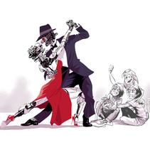 Tango!. A Illustration project by Josep Giró         - 20.05.2017