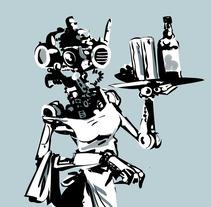 Robots!. A Illustration project by Josep Giró         - 07.06.2017