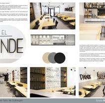 Bar EL Pande_Barcelona. Un proyecto de Arquitectura, Arquitectura interior y Diseño de interiores de Marta Silva Vicente         - 10.06.2017