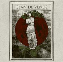 Poster Clan de Venus. A Design&Illustration project by Oscar Tellez - 13-06-2017