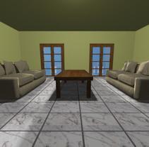 Diseños con 3D Studio Max. Un proyecto de 3D y Retoque digital de Vicky Crespo         - 15.06.2015