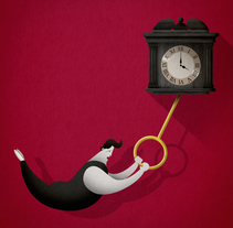 Time. A Illustration, Editorial Design, and Fine Art project by Javi Travi - 19-06-2017