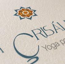 La Crisálida: Yoga para la infancia. Un proyecto de Diseño, Dirección de arte, Br e ing e Identidad de Dani GC - 19-06-2017