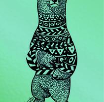 BEAR LOVE. Un proyecto de Diseño, Ilustración e Ilustración vectorial de Beatriz Segovia Martín         - 23.06.2017