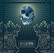 As I Lay Dying redesign cover. A Design, Art Direction, and Graphic Design project by Olga González Gallego         - 04.07.2017