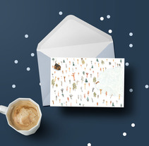 Postcard Designs. A Design&Illustration project by Marina Turmo         - 05.07.2017