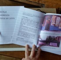 Maquetación-arte proyecto LAVA Laboratorio de las Artes de VAlladolid. Un proyecto de Informática, Artesanía, Comisariado, Eventos, Arquitectura de la información, Multimedia, Desarrollo Web, Escritura, Social Media y Producción de Sonia de Viana - 11-07-2016