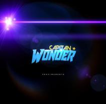 Capitan Wonder . Un proyecto de Animación y Cine de Tomas Luque         - 13.07.2017
