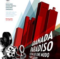 Festival Granada Paradiso. A Graphic Design project by PERRORARO  - 17-07-2017
