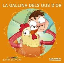 La Gallina dels Ous d'Or (Col. El Bosc de Colors) Barcanova. A Illustration, Editorial Design, and Education project by Ariadna Reyes         - 23.02.2017