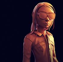 Cartoon Laura Kinney (Logan). Un proyecto de 3D de Jesús Chacón         - 25.07.2017