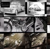 Environtment - Fábrica de luz. Um projeto de 3D de José Torres Escobar         - 28.08.2017