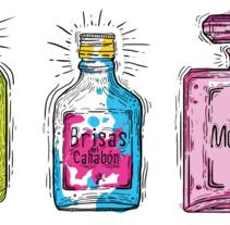 Aromas que se extiguen. Un proyecto de Ilustración y Diseño gráfico de Carlos  chong - 26-07-2017