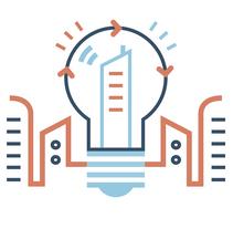 AYUNTAMIENTO DE MADRID. Soberanía energética. Un proyecto de Dirección de arte, Ilustración vectorial y Señalética de Del Hambre  - 27-07-2017