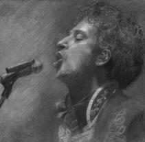 Gustavo Cerati - Ilustraciones. Um projeto de Ilustração de Gerson Eric Pereira Rafael         - 28.07.2017