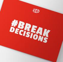 #BREAKDECISIONS. Un proyecto de Br, ing e Identidad, Diseño gráfico y Diseño Web de Berta de la Iglesia         - 10.02.2017